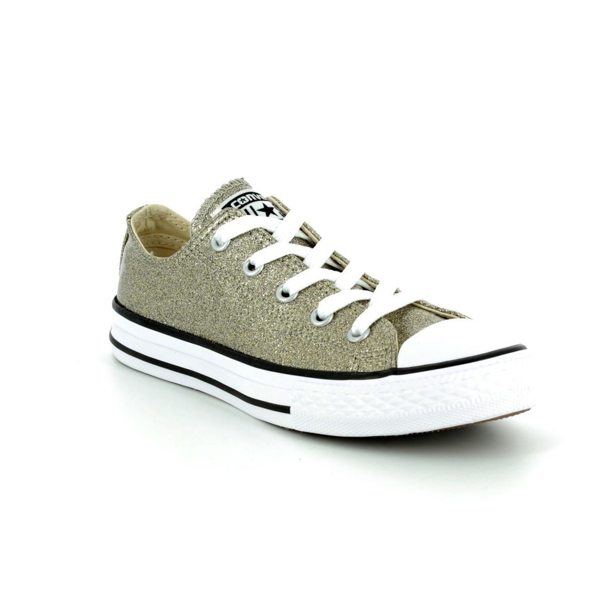 6a9dcb4ff57d Converse All Star Ox Yth 660046C Gold Girls trainers