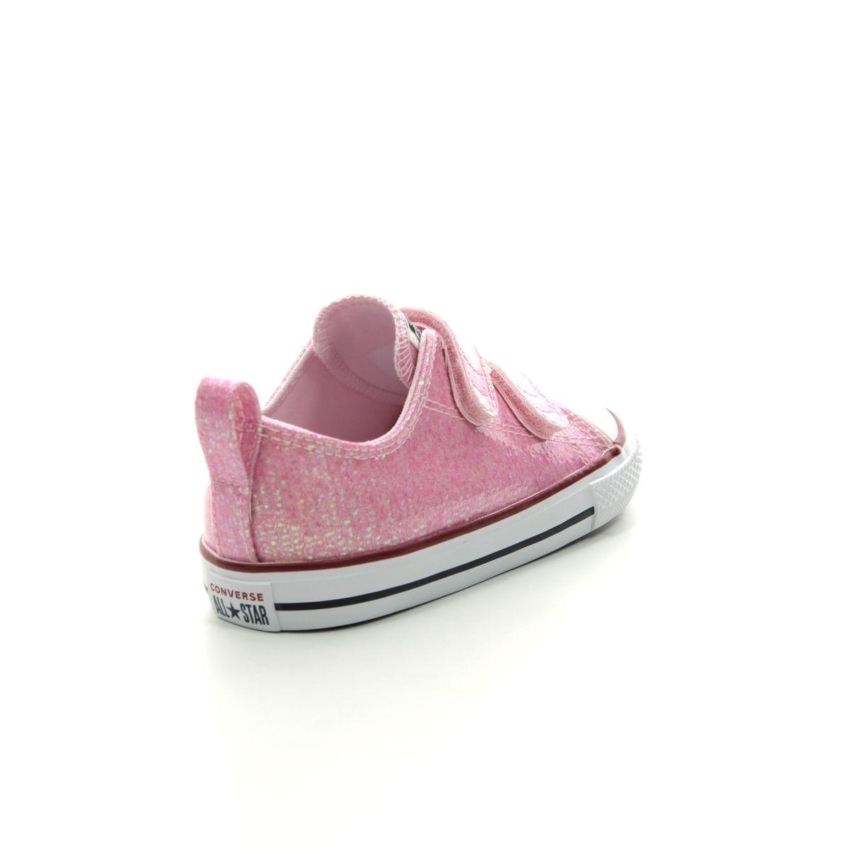 Converse Trainers - Pink - 763550C ALLSTAR 2V VELCRO e07b115c6a9e4