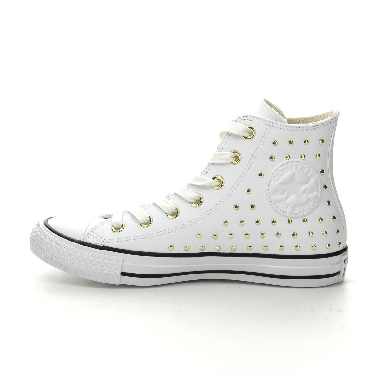 57a4a68199e Converse Trainers - White - 561683C ALLSTAR HI STUDS