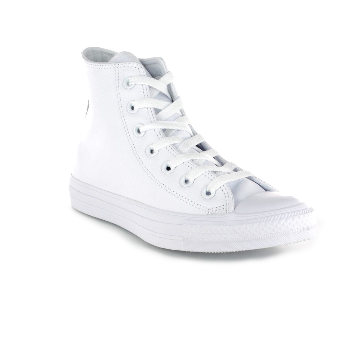 de59dc7f85b Converse Trainers - White - 1T406 ALL STAR HI Top Leather Mono