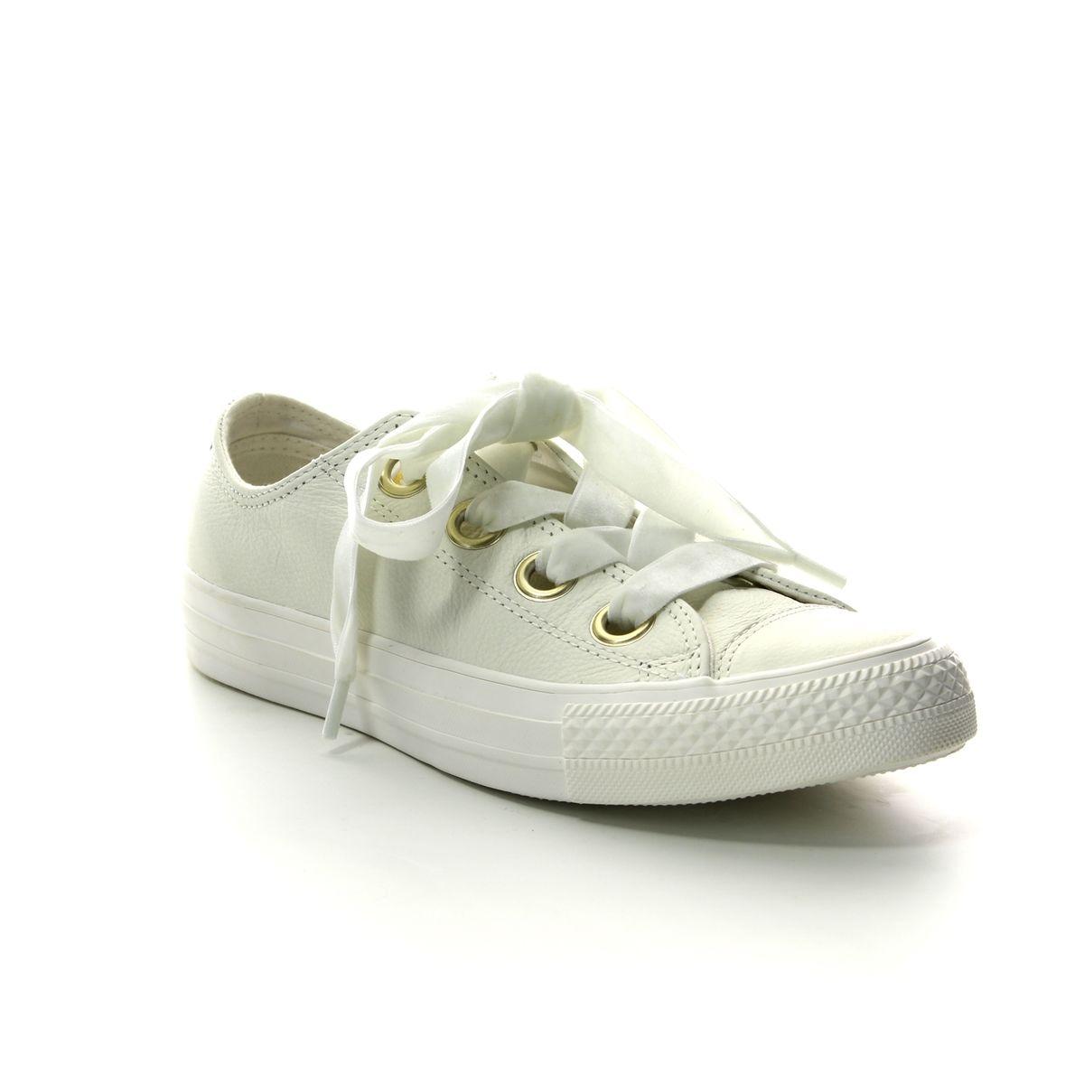 f573ac6b9a77 Converse Trainers - White - 561688C ALLSTAR RIBBON
