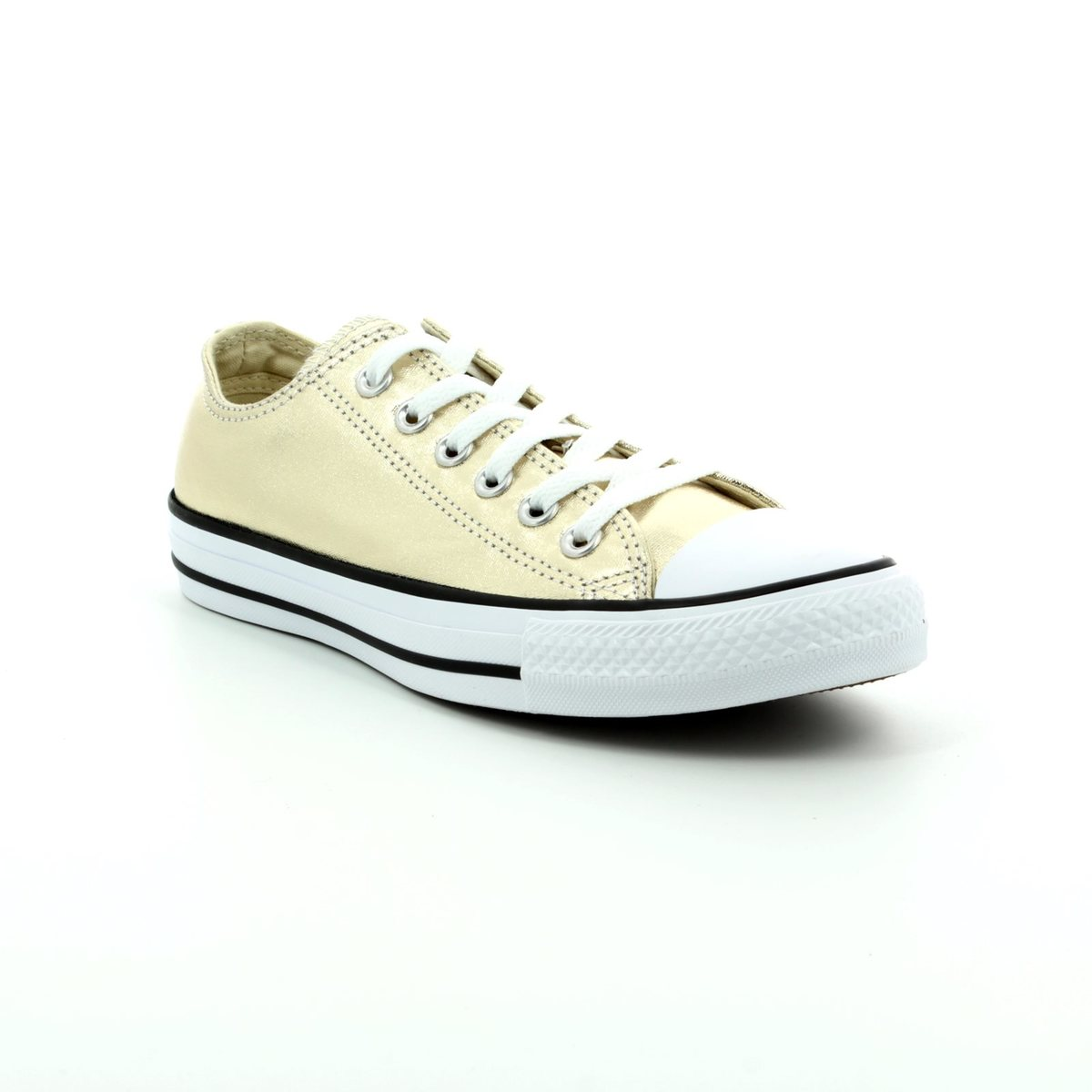eda00246e9b4 Converse Trainers - Gold - 153181C Chuck Taylor All Star OX Light Gold