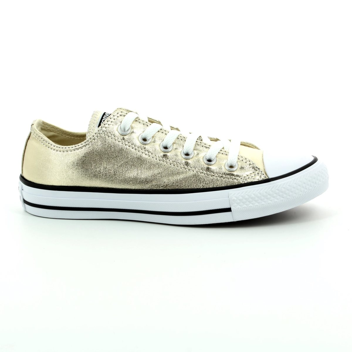 c77150967796 Converse Trainers - Gold - 153181C Chuck Taylor All Star OX Light Gold