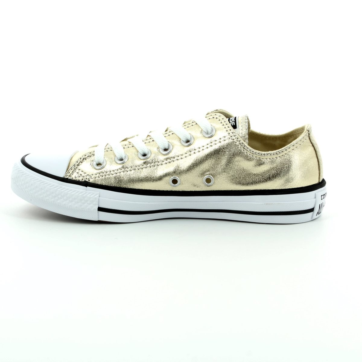 4917fb84a8a9 Converse Trainers - Gold - 153181C Chuck Taylor All Star OX Light Gold