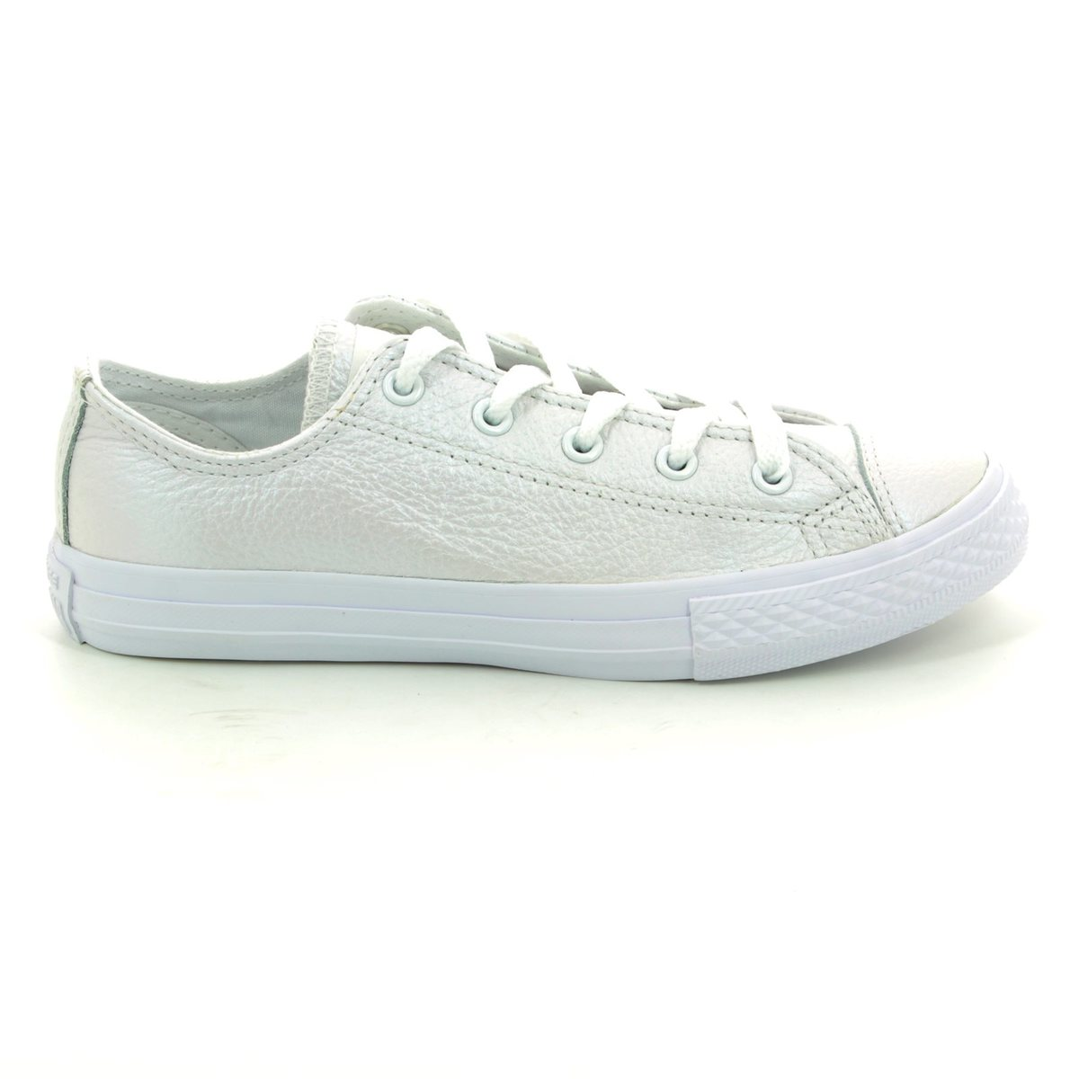3d83b85bdde Converse Trainers - White - 358009C Chuck Taylor All Star Ox Junior Leather