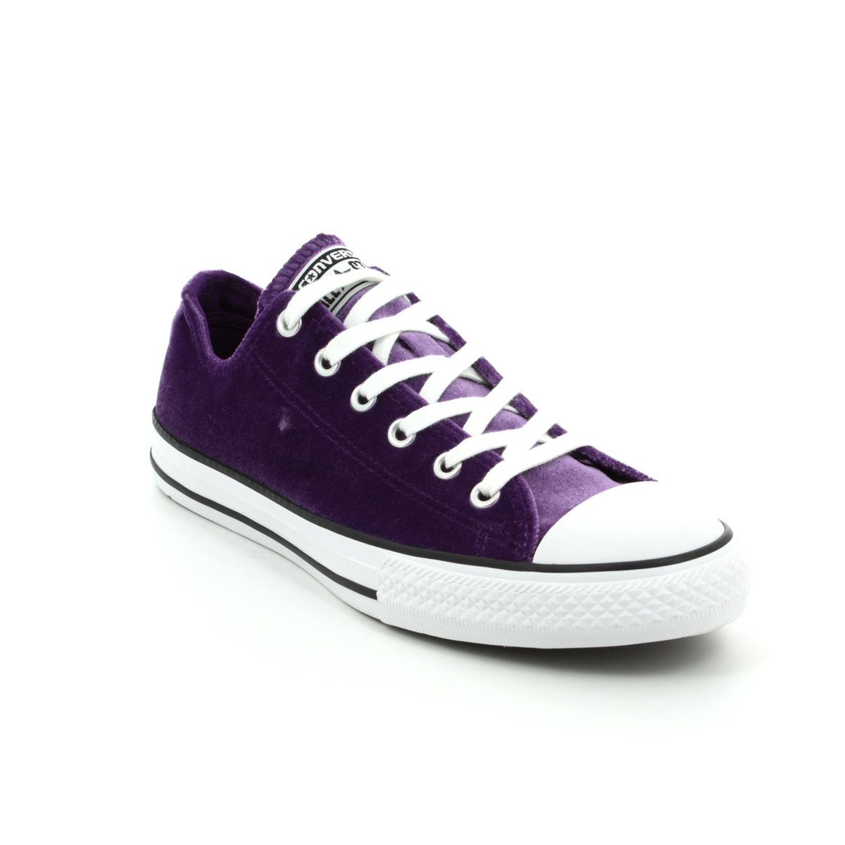 596851798b0c Converse Trainers - Violet - 658211C Chuck Taylor ALL STAR OX JNR