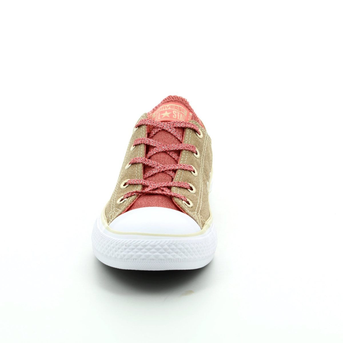 66beb48c2e6f Converse Trainers - Gold - 658111C Chuck Taylor ALL STAR OX Youth