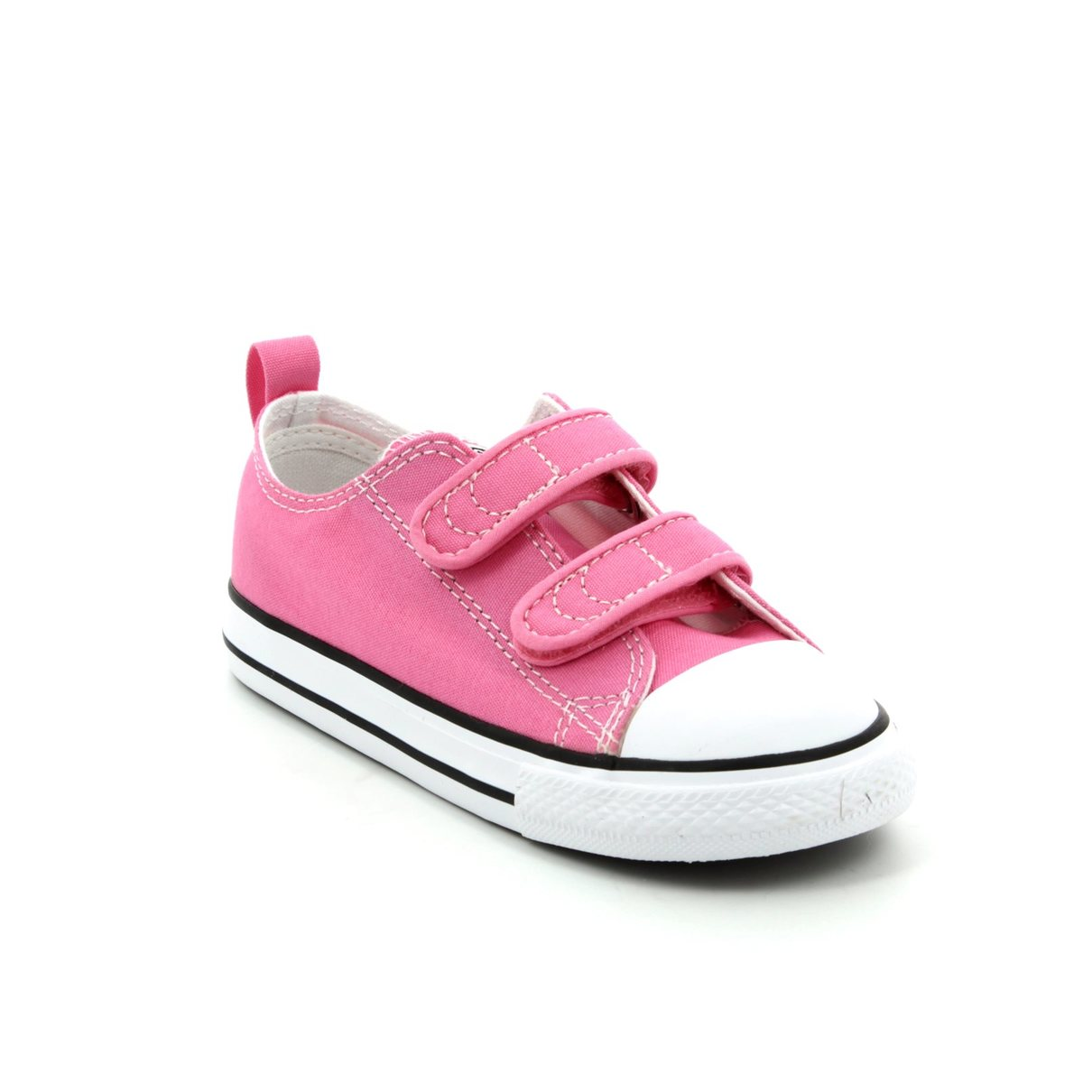 7c8afdf769c1 Converse Trainers - Pink - 709447F 650 CHUCK TAYLOR ALLSTAR 2V Velcro