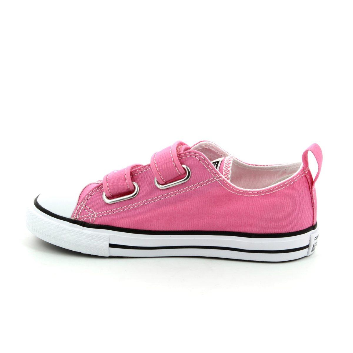 Converse Trainers - Pink - 709447F 650 CHUCK TAYLOR ALLSTAR 2V Velcro f53973b44b60d