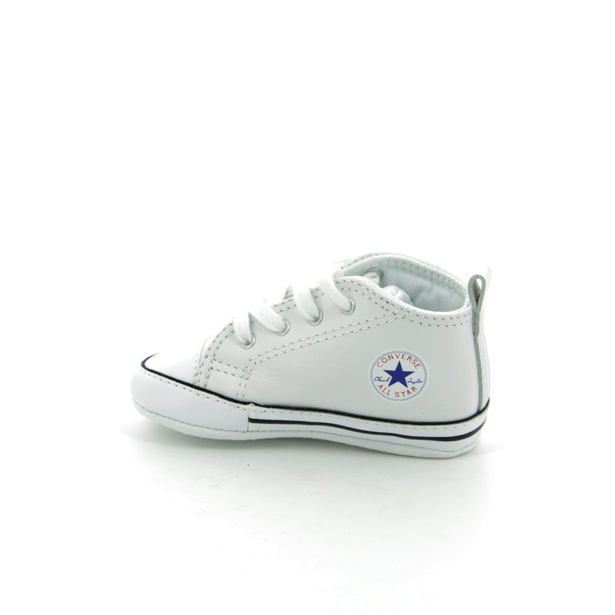 Converse First Star Crib Shoes Black