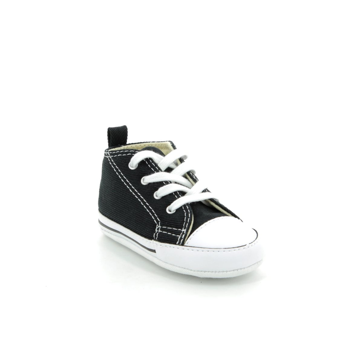 Converse Baby First Star Crib Shoes White