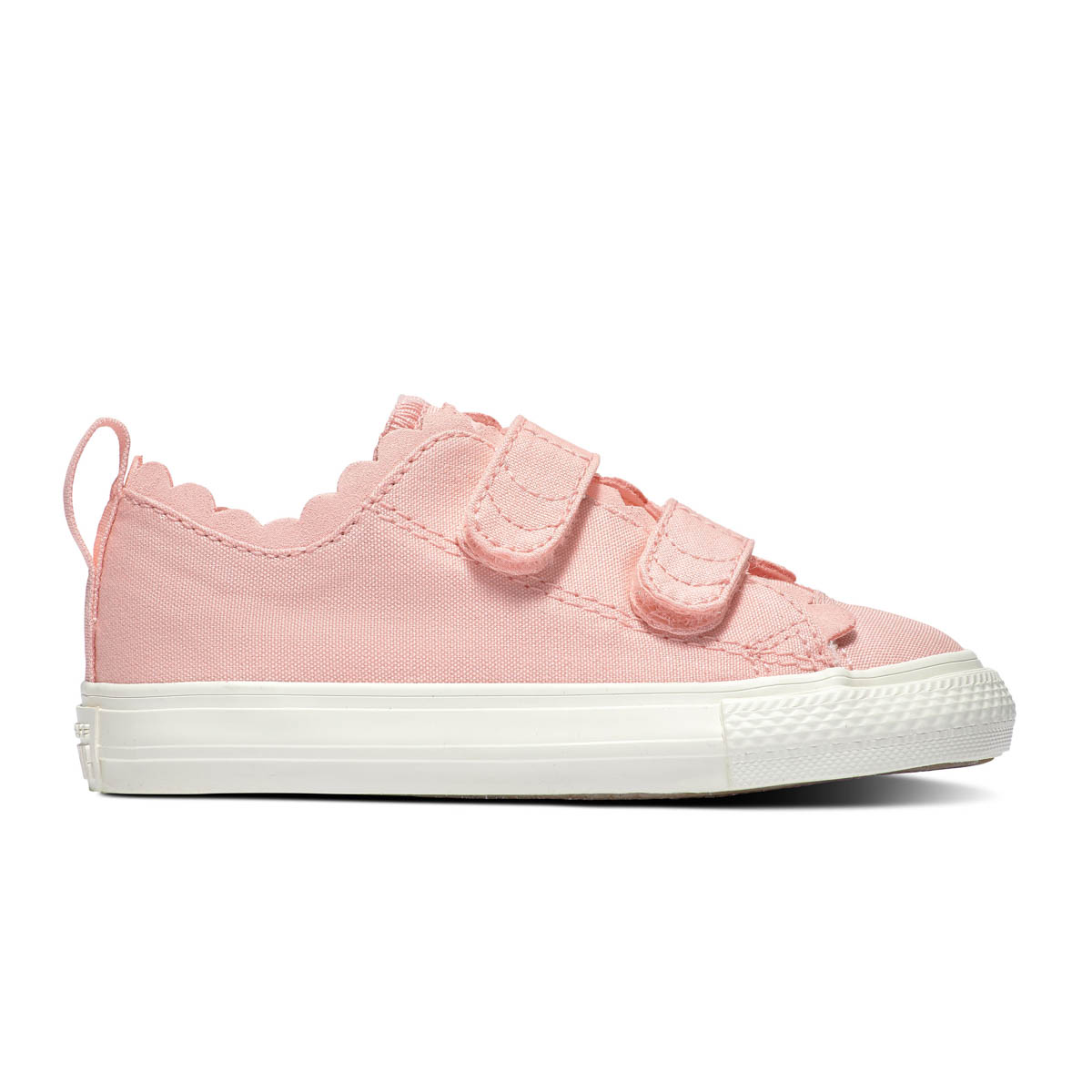 Converse Trainers - Pink - 764369C FRILLS 2V VELCRO 873c10c5eb06a