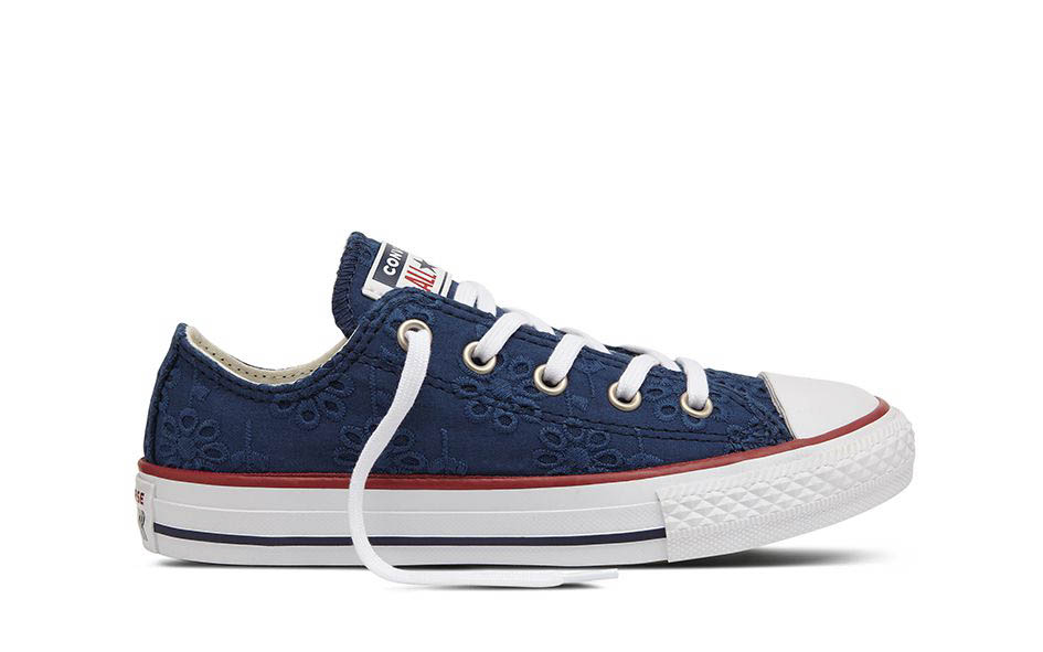 e2430d92848f Converse Trainers - Navy - 664864C GARNET YOUTH GIRLS