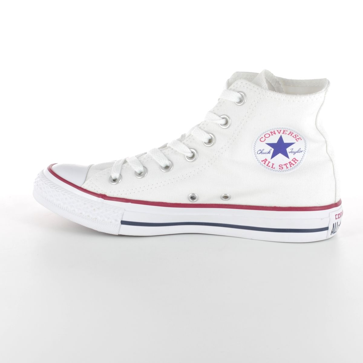 low priced 4d988 36c2a Converse Trainers - White - M7650C All Star HI Top Optical White