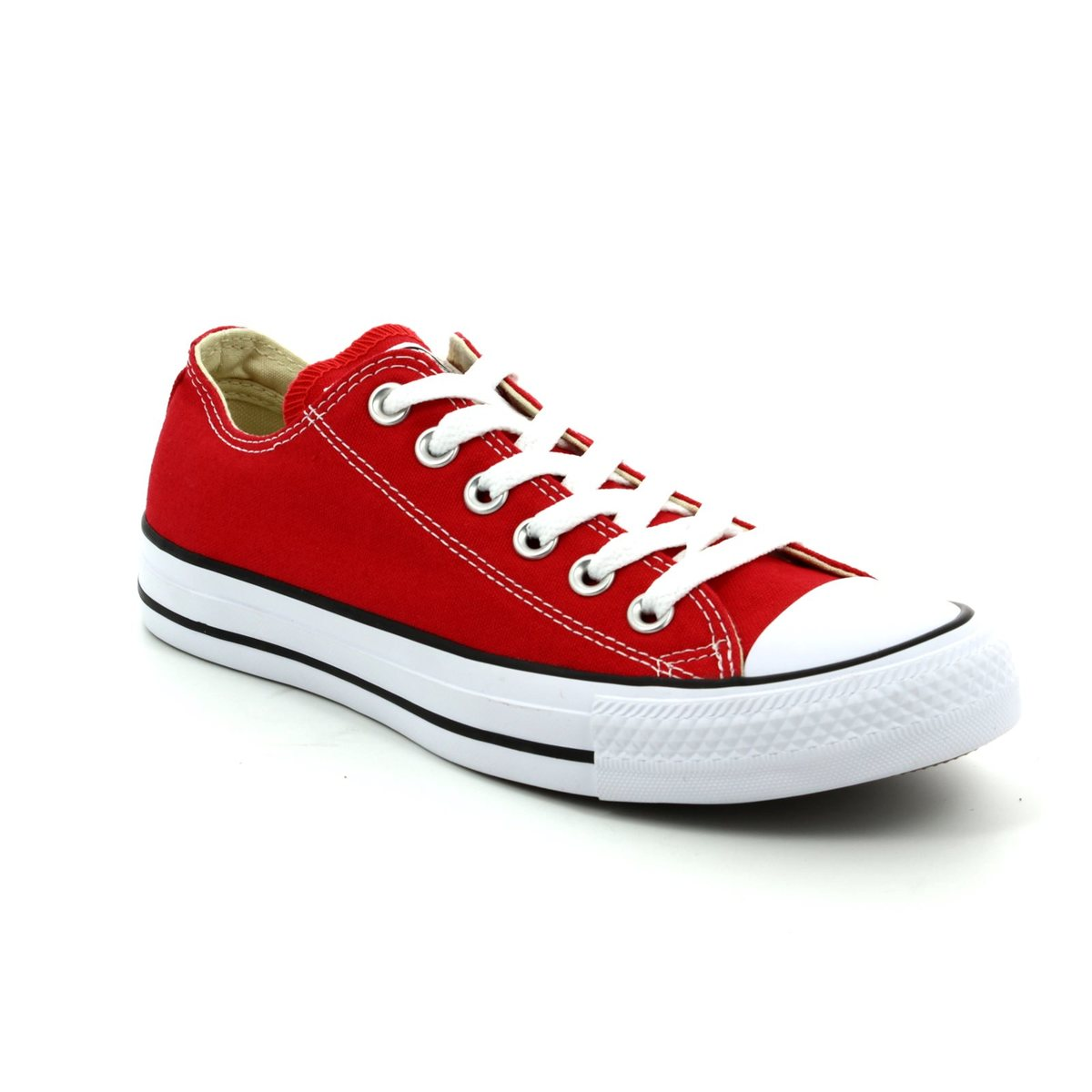 e46b44a94d95 Converse M9696C All Star OX Classic Red canvas trainers