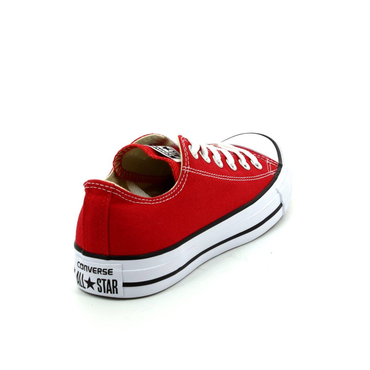 10e56e1f3e42 Converse M9696C All Star OX Classic Red canvas trainers