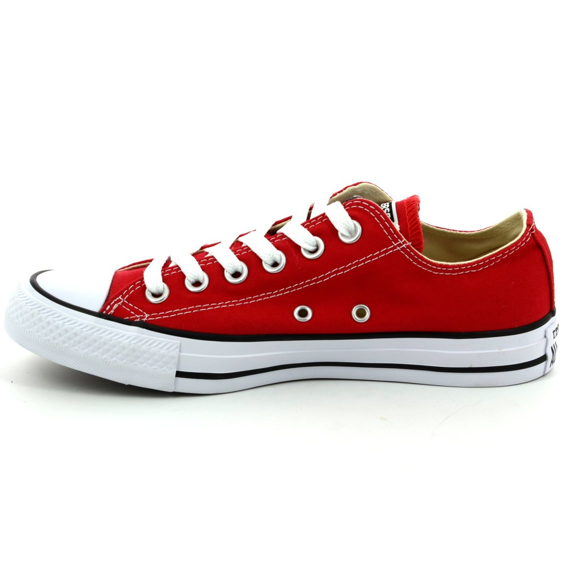 4d8048a36dd4 Converse M9696C All Star OX Classic Red canvas trainers