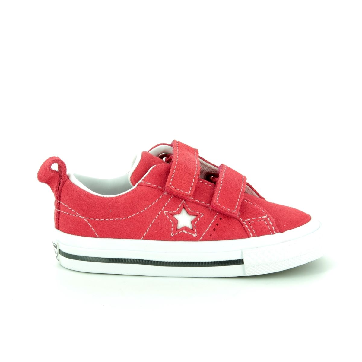 55213ed237ae Converse Trainers - Red - 758493C 600 ONESTAR VEL IN