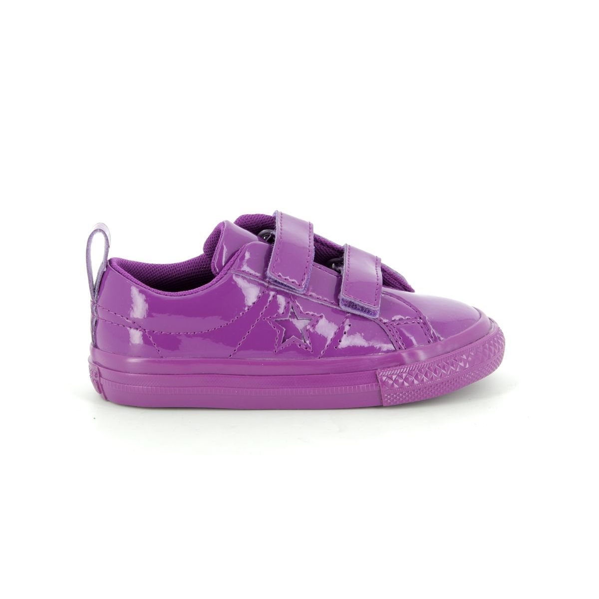 cceebc914485 Converse Trainers - Purple - 762523C ONESTAR VEL IN