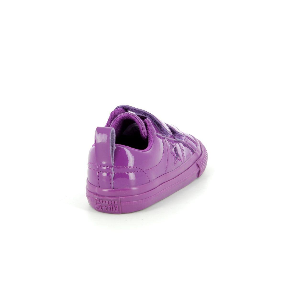 9049148fa9eb Converse Trainers - Purple - 762523C ONESTAR VEL IN