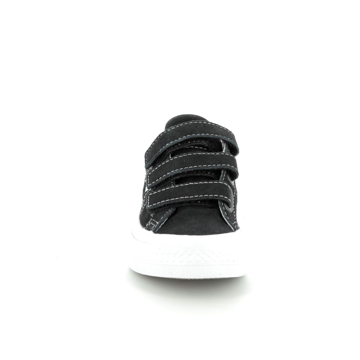 d185cba11fce Converse Onestar Velcro Junior 658491C Black Unisex Kids Trainers