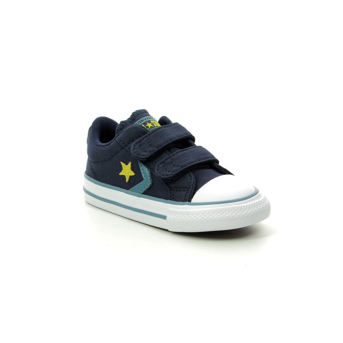 a115ccb02fc1 Converse Trainers - Navy - 763528C STAR PLAYER 2V VELCRO