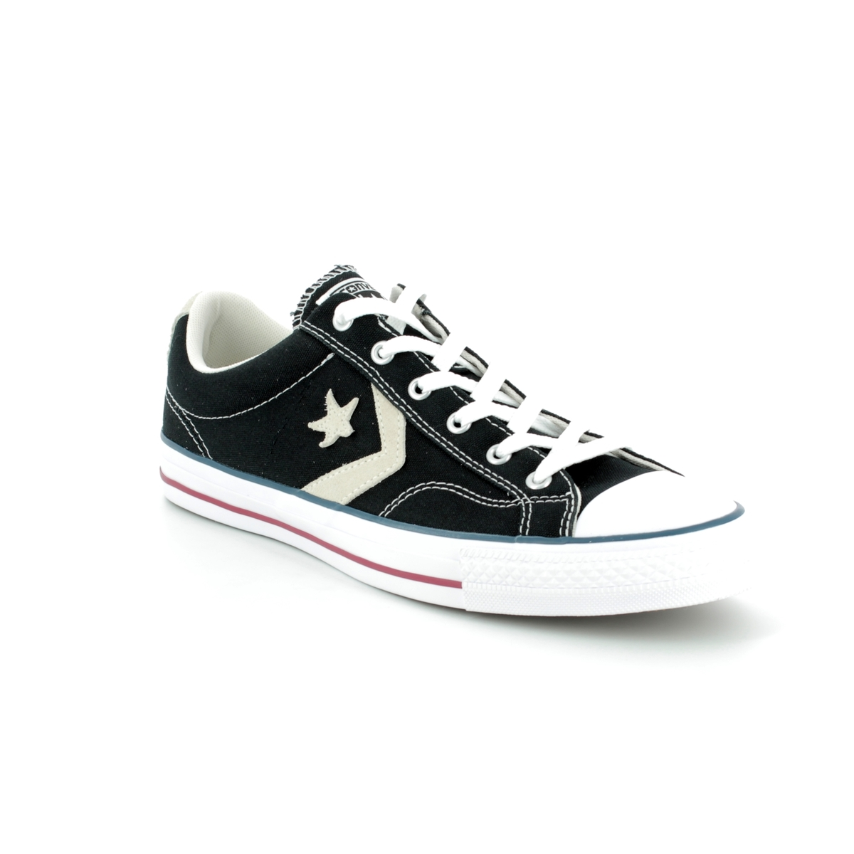 373acd38dc38d6 Converse Trainers - Black - 144145C STAR PLAYER OX