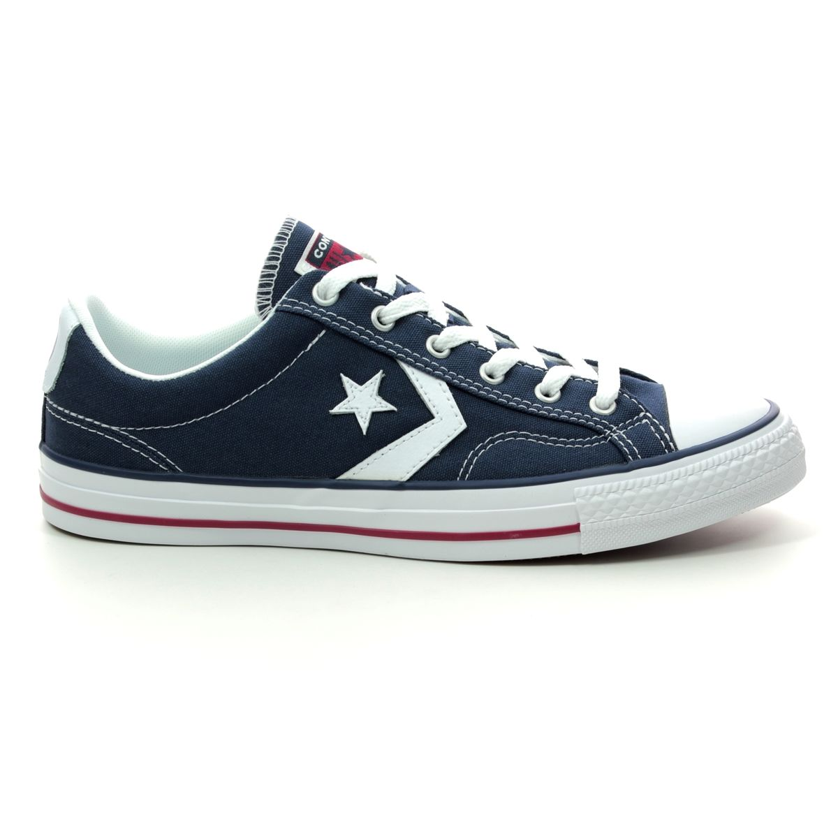 c9c541e37706 Converse Trainers - Navy - 144150C STAR PLAYER OX
