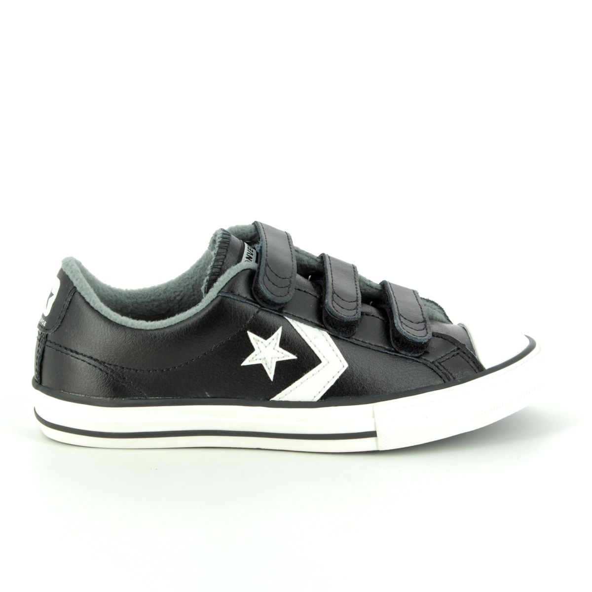 Converse Trainers - Black leather - 661936C STAR PLAYER VELCRO f22650171
