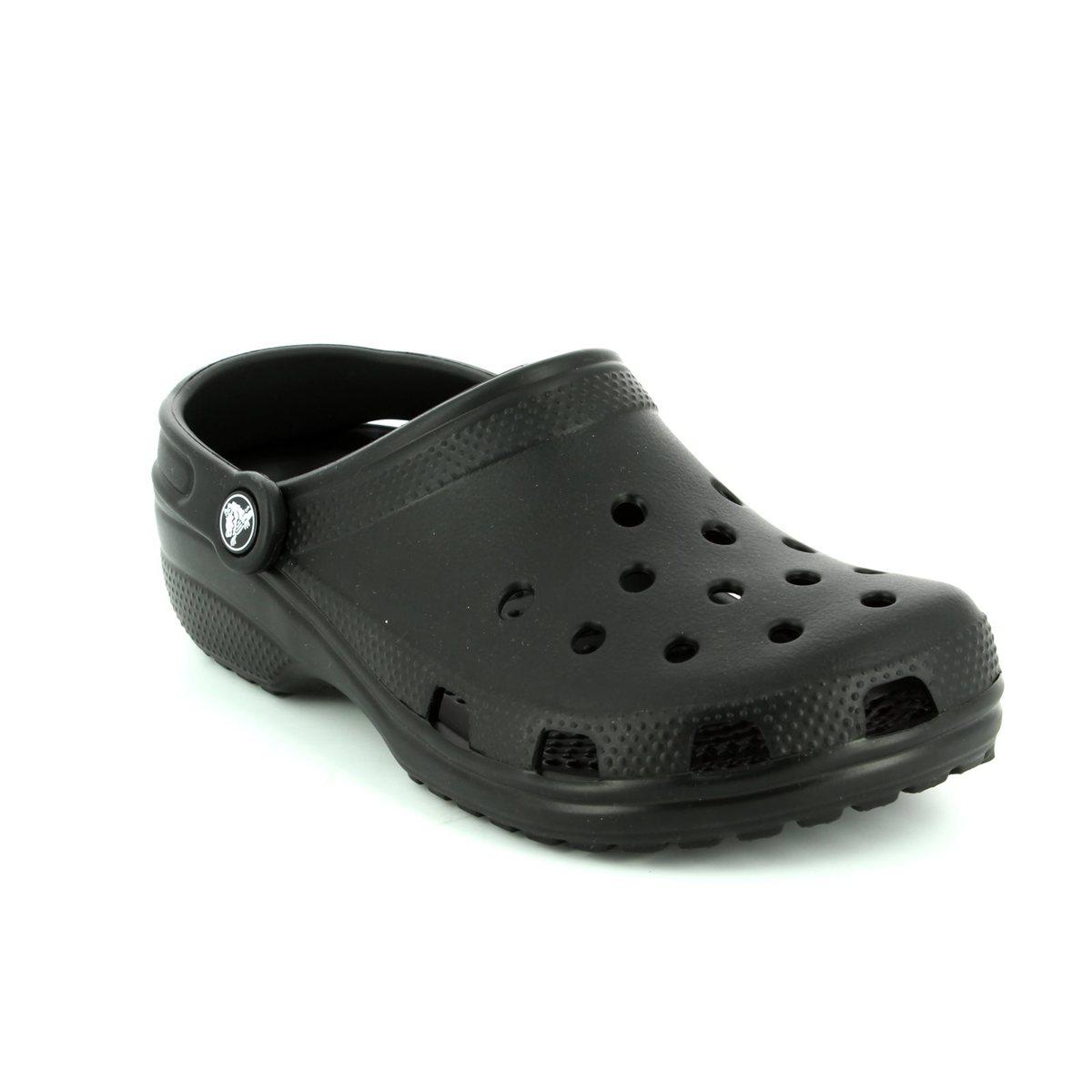 773acdbd39710a Crocs Mens  amp  Womens - Black - 10001 001 CLASSIC