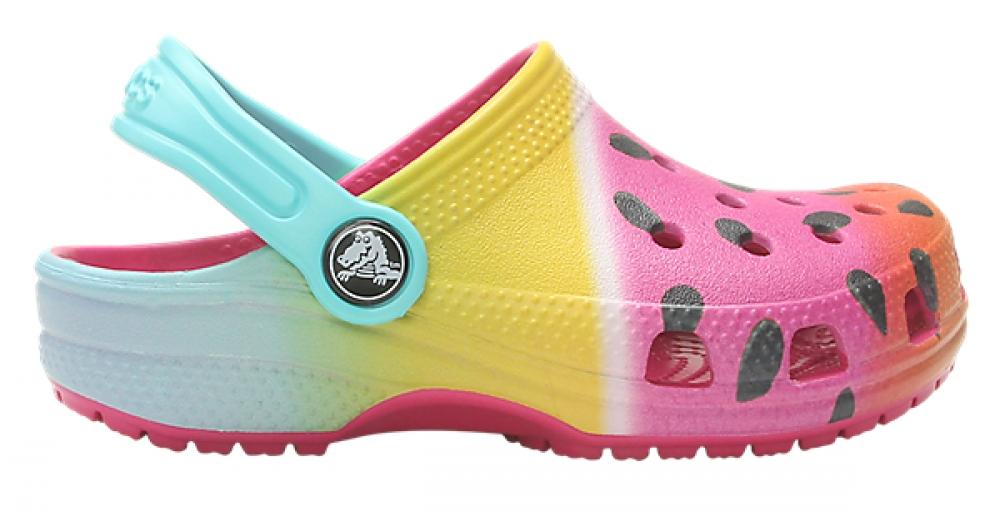 74e25d1969fe Crocs Summer Shoes - Multi Coloured - 205653 6X0 CLASSIC CLOG K