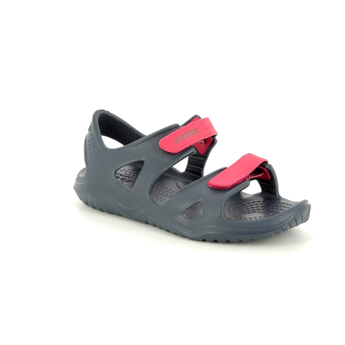 dea546e34cf8 Crocs Sandals - Navy multi - 204988 4BA SWIFTWATER KID