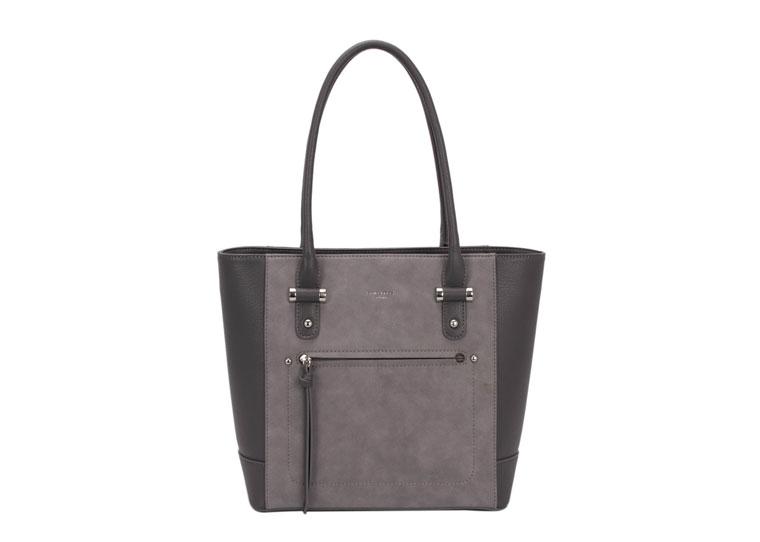 David Jones Handbag Dark Grey 5556 A2 5556a 2 Med Hobo