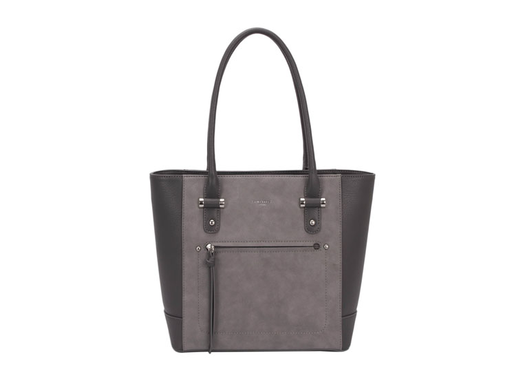 8e5da59aa461 David Jones Handbag - Dark Grey - 5556 A2 5556A-2 MED HOBO