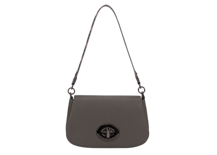 David Jones Handbag Dark Grey 5603 20 2 Cartridge Bag