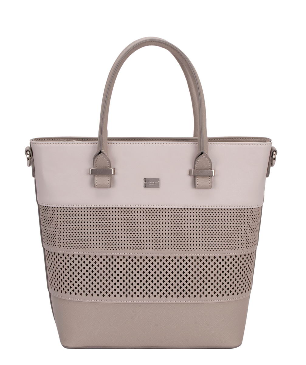 272c2fd87e5 David Jones Handbag - Grey multi - 5747/20 5747-2 HOBO
