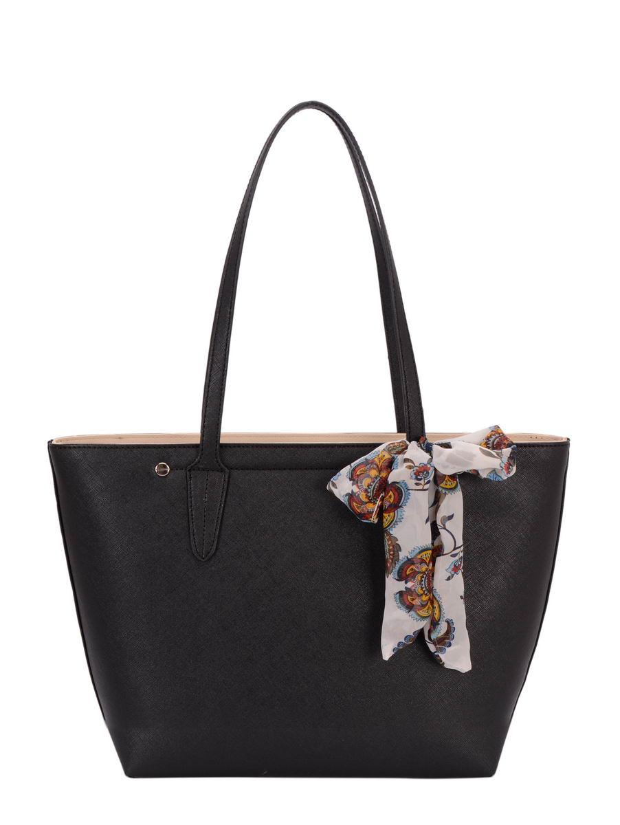 David Jones Handbag - Black - 5719 23 5719-2 SHOPPER d2616a9ad1