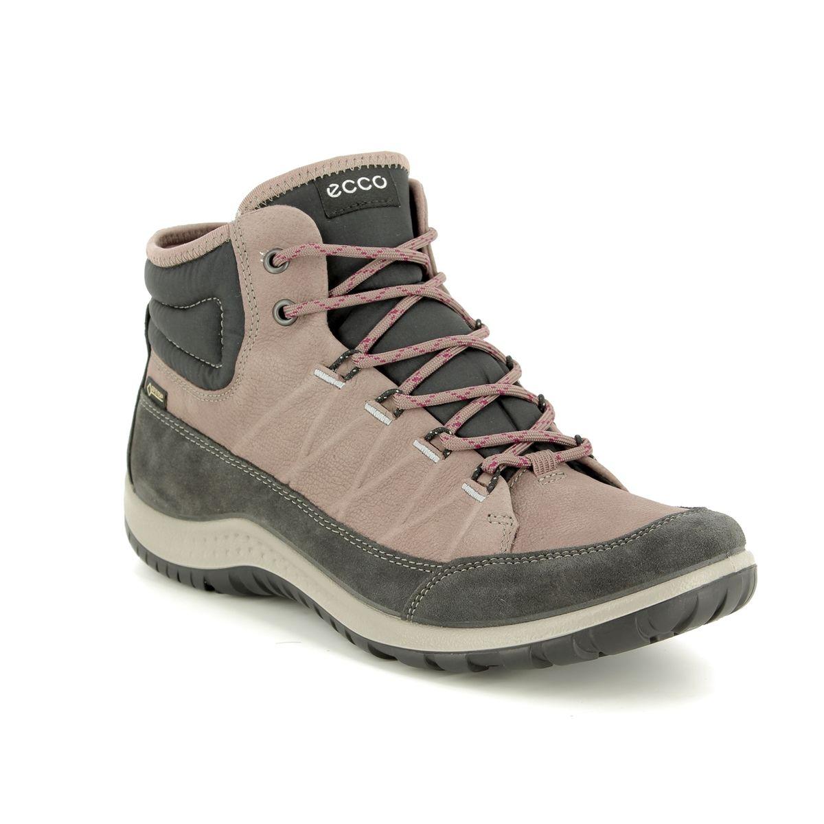 37c7ad71 ECCO Walking Boots - Taupe multi - 838513/51194 ASPINA HI GORE-TEX