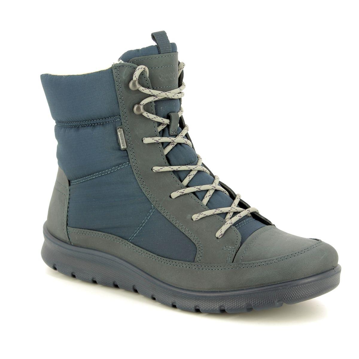 d4740f6d52a8 ECCO Winter Boots - Navy nubuck - 215553 50642 BABETT BOOT GORE-TEX 85