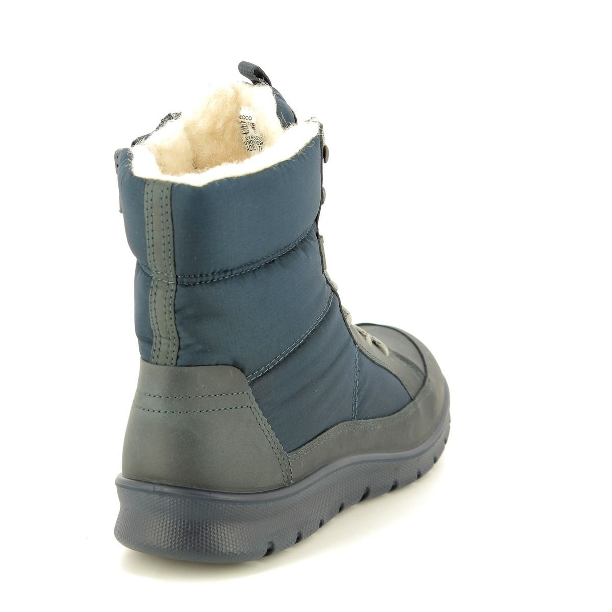 7283c3e4720 ECCO Winter Boots - Navy nubuck - 215553/50642 BABETT BOOT GORE-TEX 85