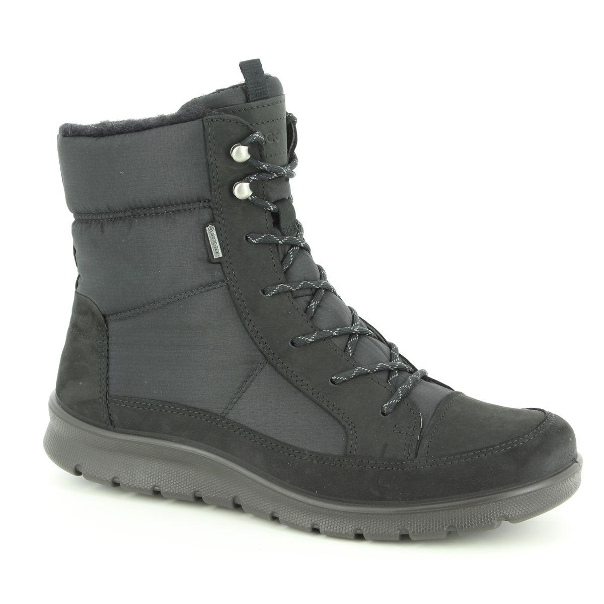 b3cc2de49cf ECCO Winter Boots - Black nubuck - 215553 51052 BABETT BOOT GORE-TEX 85