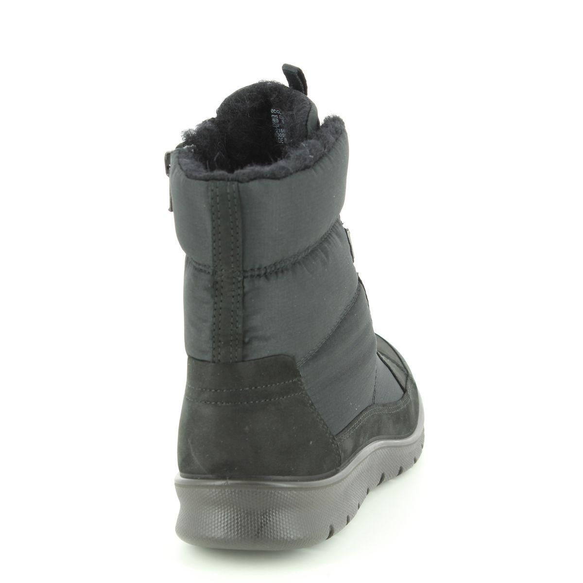 2c21a252afb ECCO Winter Boots - Black nubuck - 215553/51052 BABETT BOOT GORE-TEX 85