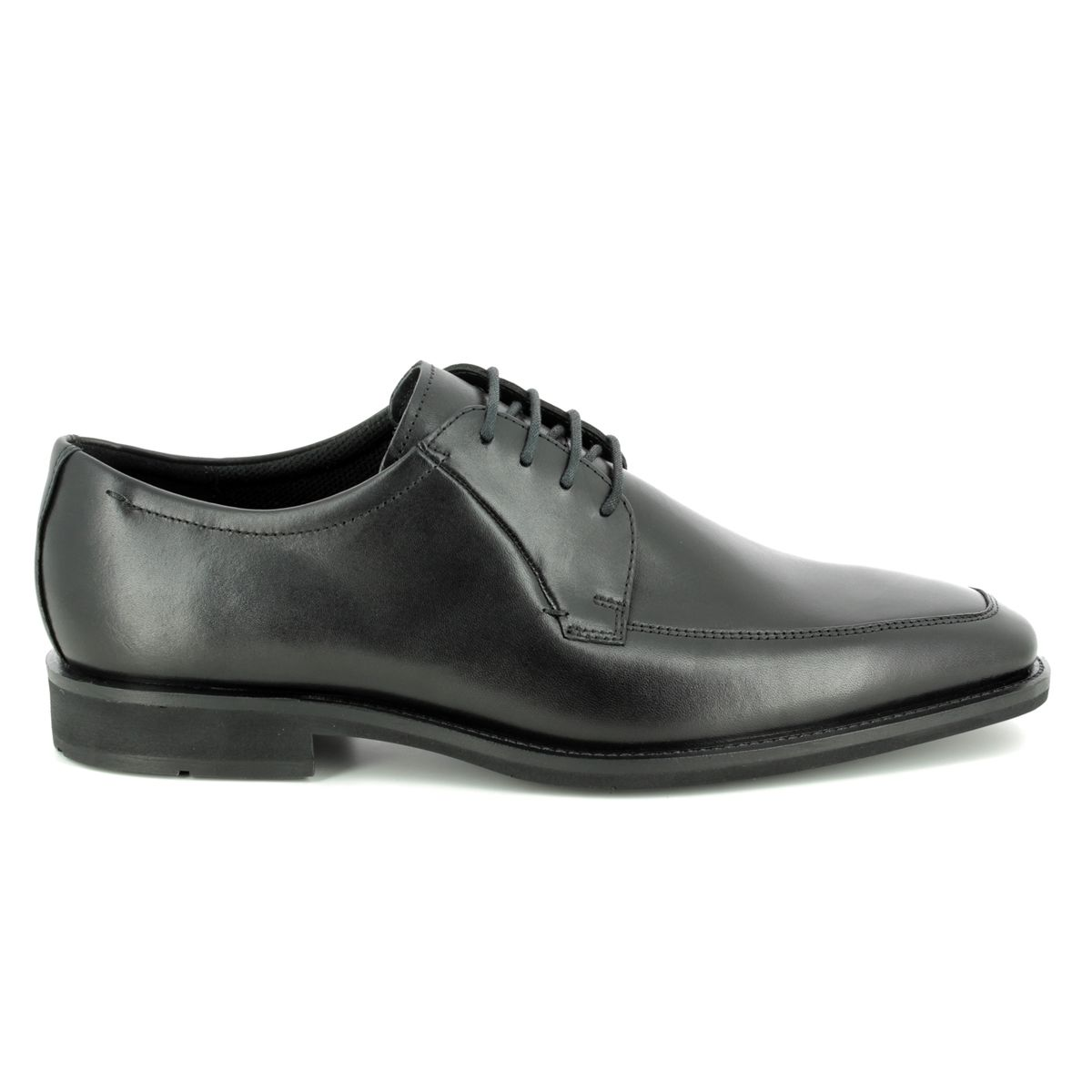 cfbb043890b ECCO Formal Shoes - Black leather - 640714 01001 CALCAN