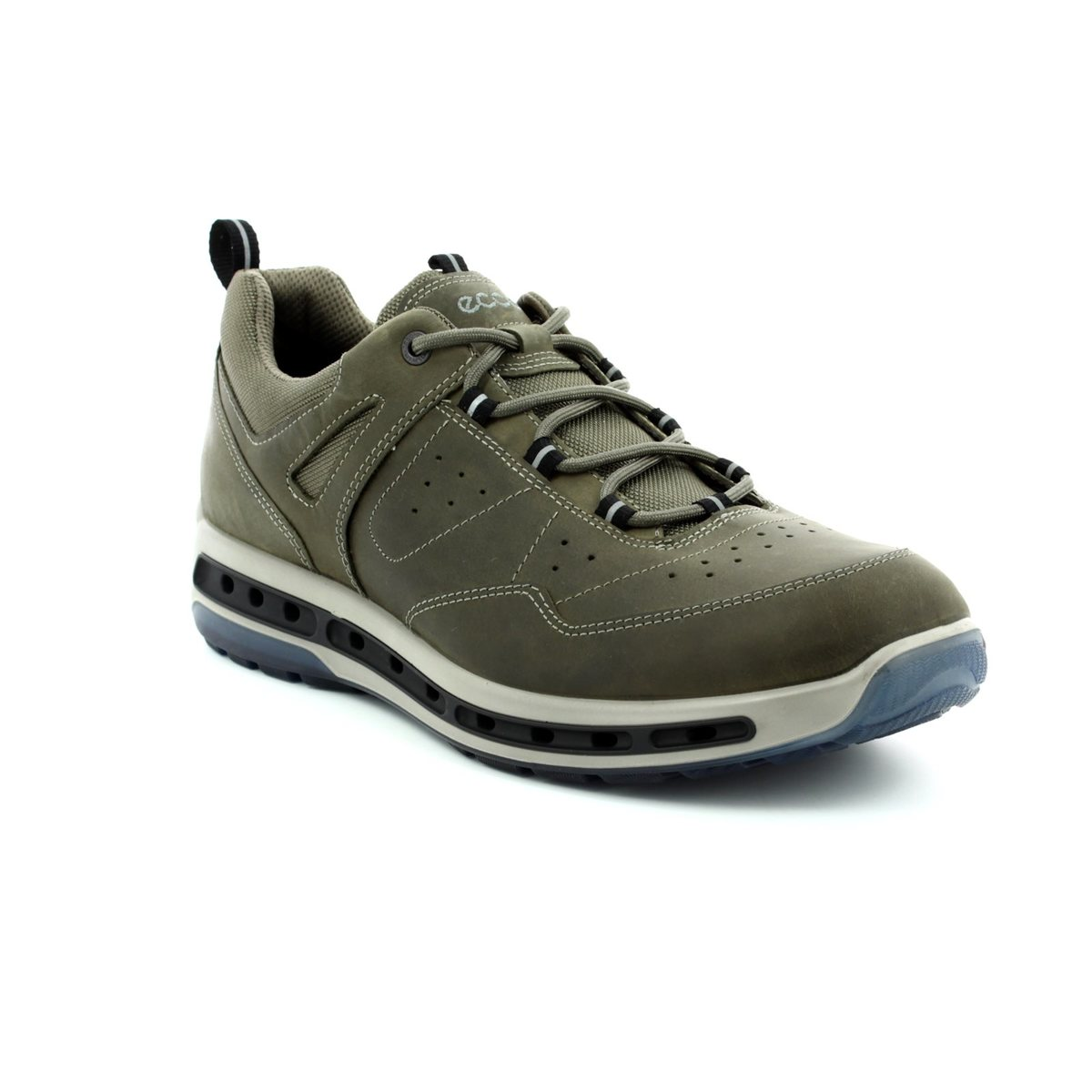 eab2c3339601 ECCO Casual Shoes - Olive - 833204 02543 COOL WALK Gore-Tex
