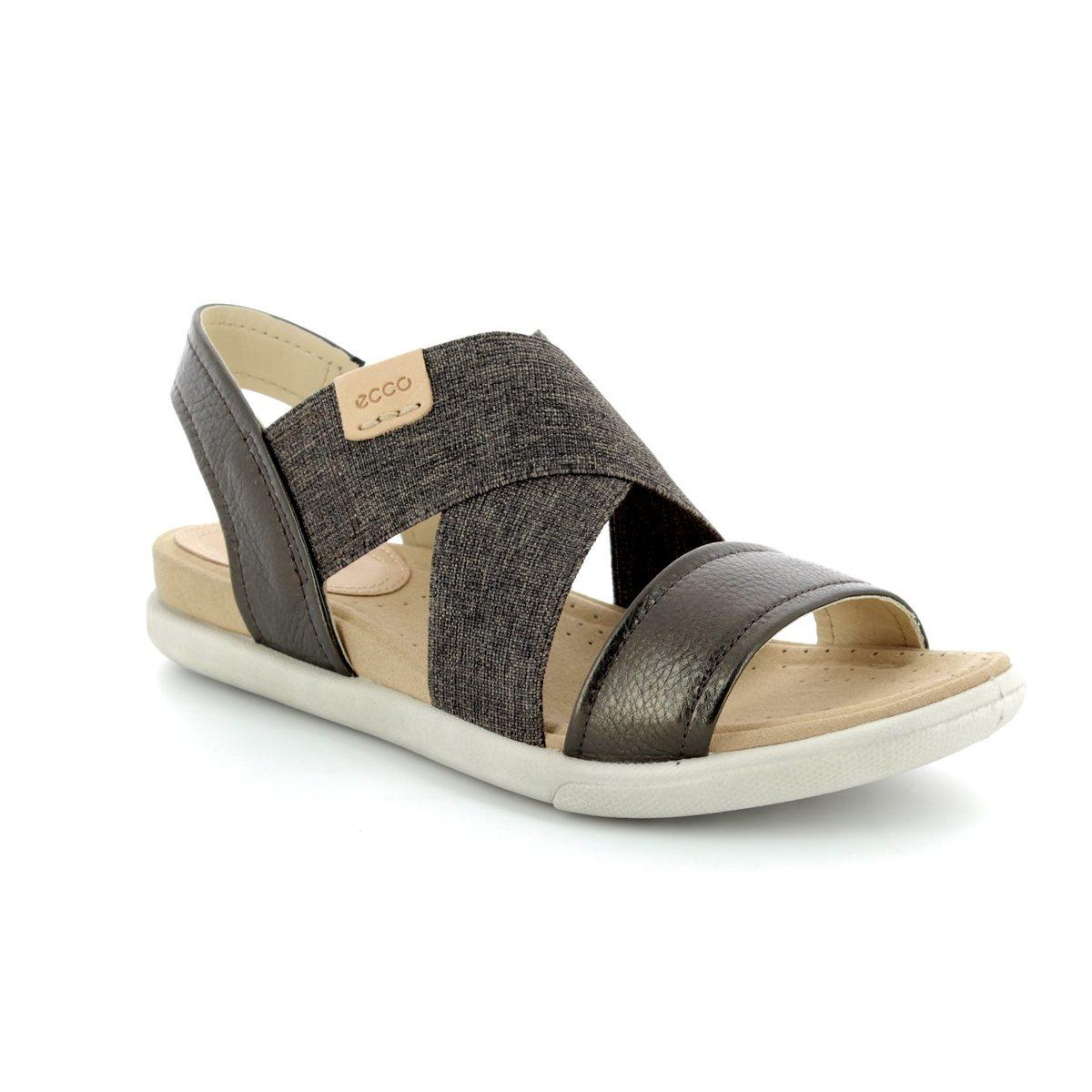 645ab700842f ECCO Sandals - Pewter - 248223 50533 DAMARA SANDAL