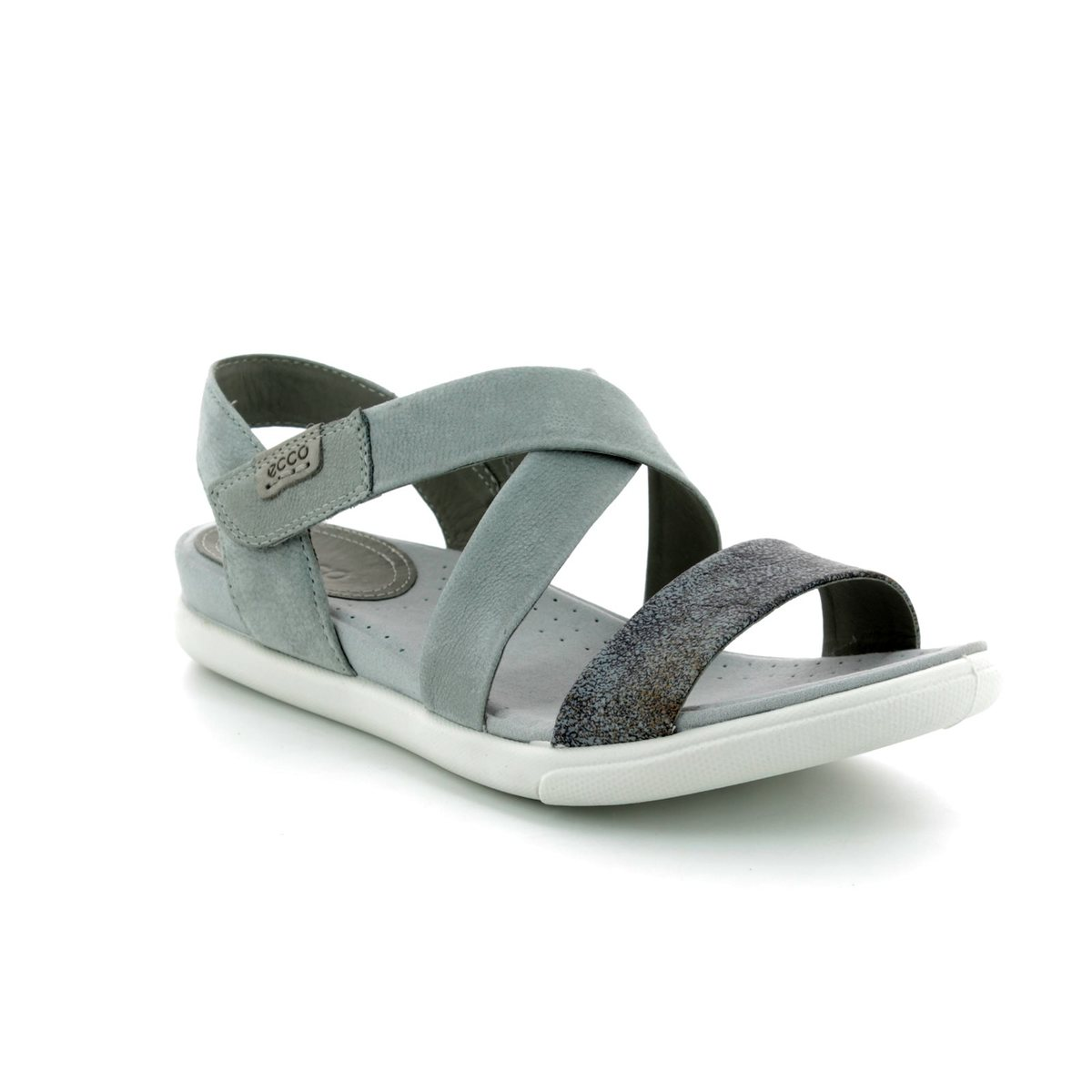 5d898d195352b ECCO Sandals - Grey - 248273-55915 DAMARA SANDAL