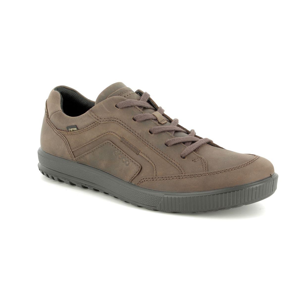 153ae684338f ECCO Casual Shoes - Brown nubuck - 534294 02072 ENNIO GORE-TEX