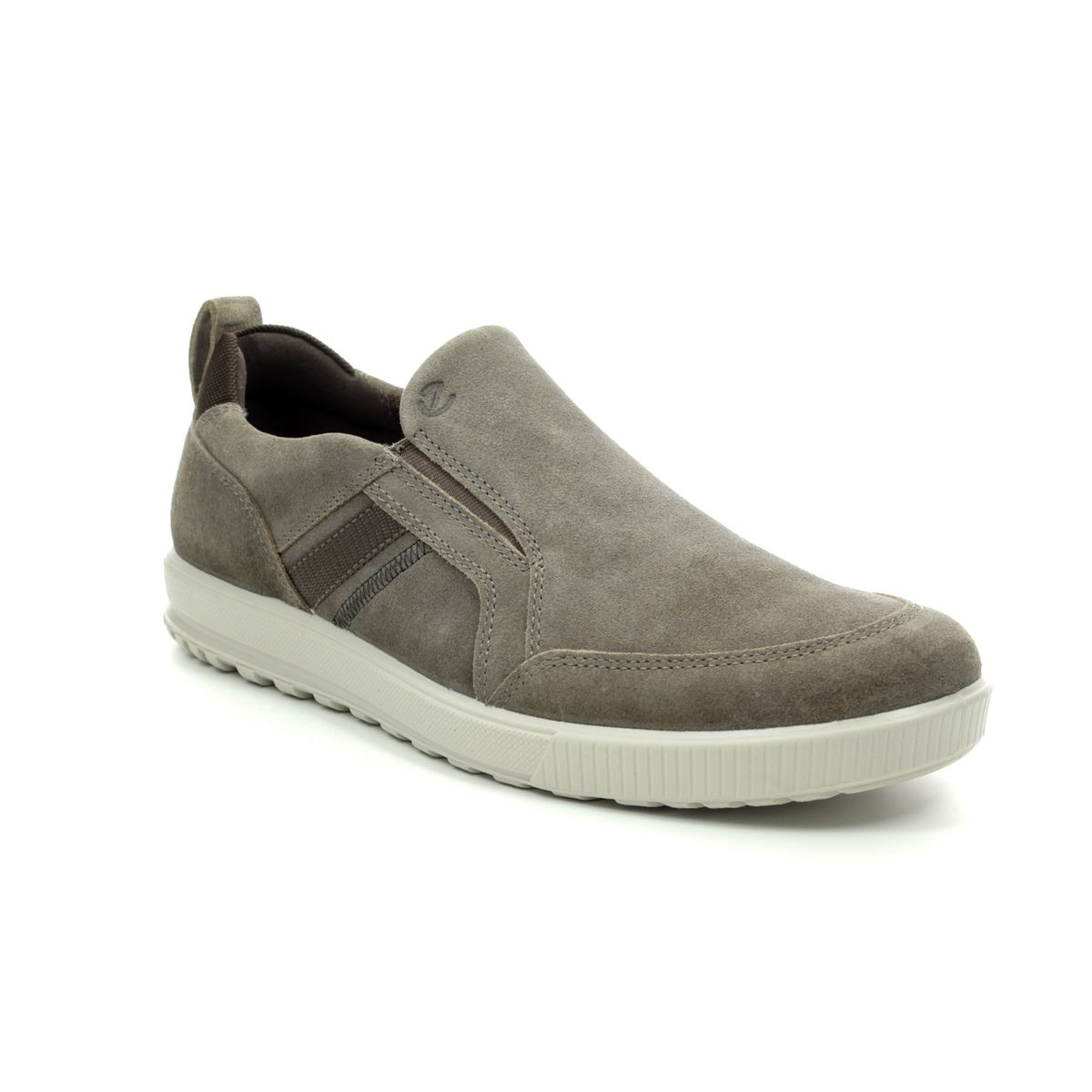 a1ba953e60b3 ECCO Casual Shoes - Taupe suede - 534364 02192 ENNIO SLIP