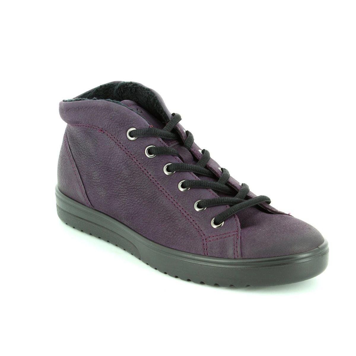 ECCO Ankle Boots - Aubergine - 235343/02276 FARA HI