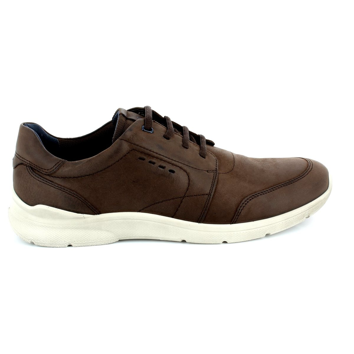 ecco irondale 503114 02072 brown casual shoes